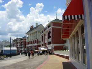 The Boardwalk and faux historical buildings