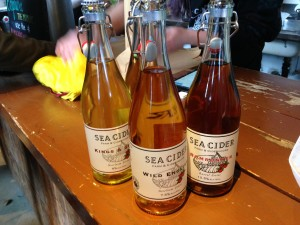 bottles of cider