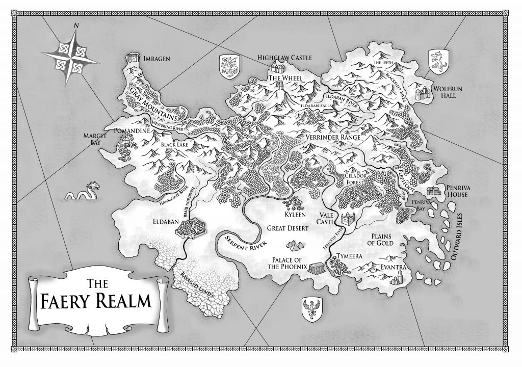 Map of Faery